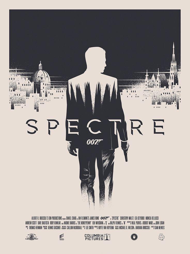 SPECTRE For Poster Posse on Behance