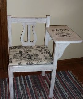 Telephone Table Makeover: Telephone Table