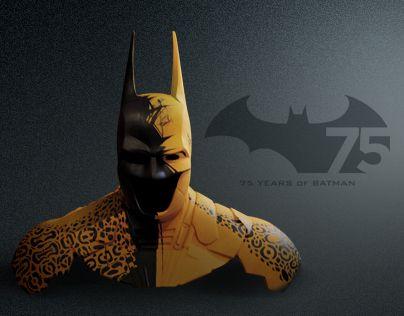 """Como parte del festejo del 75 aniversario de Batman, MUMEDI y Warner Bros invitaron a 33 artistas mexicanos a participar en la exposición """"BATMAN a través de la creatividad mexicana"""" para intervenir la máscara y la capa de este personaje. Jaguar Alado, …"""