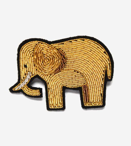 Брошь Gold Elephant от Macon&Lesquoy