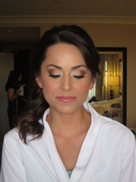 wedding make up @ wish-upon-a-weddingwish-upon-a-wedding #hair #beauty #hairstyles