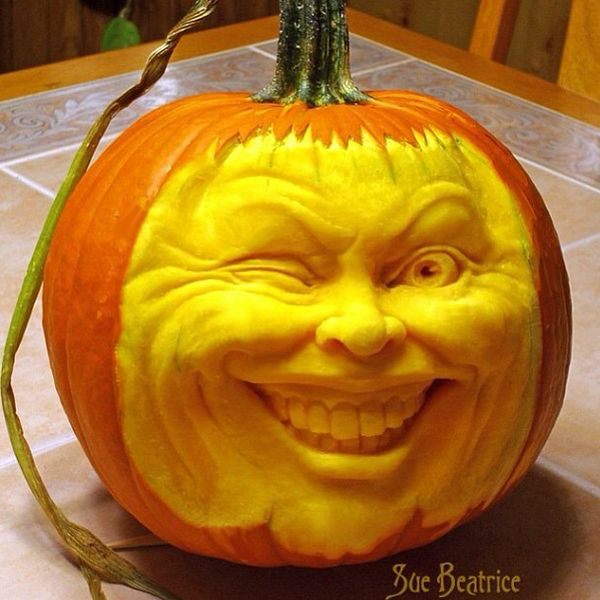 Best Extreme Pumpkin Carvings Images On Pinterest Autumn - Mind blowing pumpkin carvings by ray villafane 2