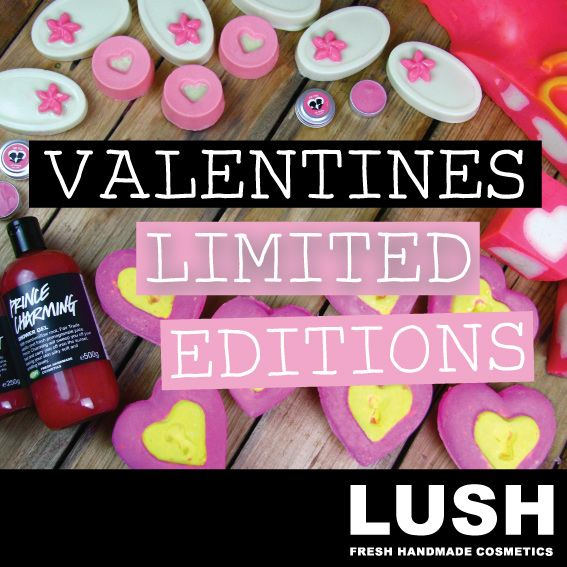 LUSH has limited editions Valentine's treats in store now!