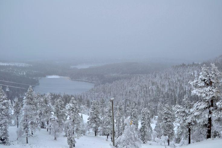 Ruka, Kuusamo. With huge passion for life