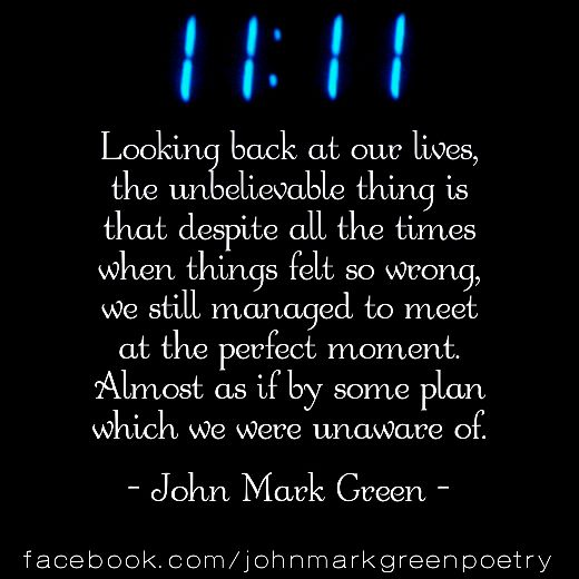 Eleven Eleven - soulmate poem by John Mark Green - romantic poetry #soulmates #11:11 twin flames #love #poem #johnmarkgreenpoetry #johnmarkgreen