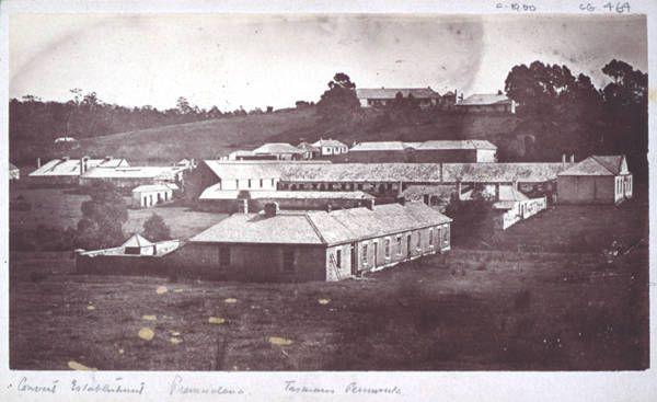 Convict station Premaydena, Van Diemen's land 1840s