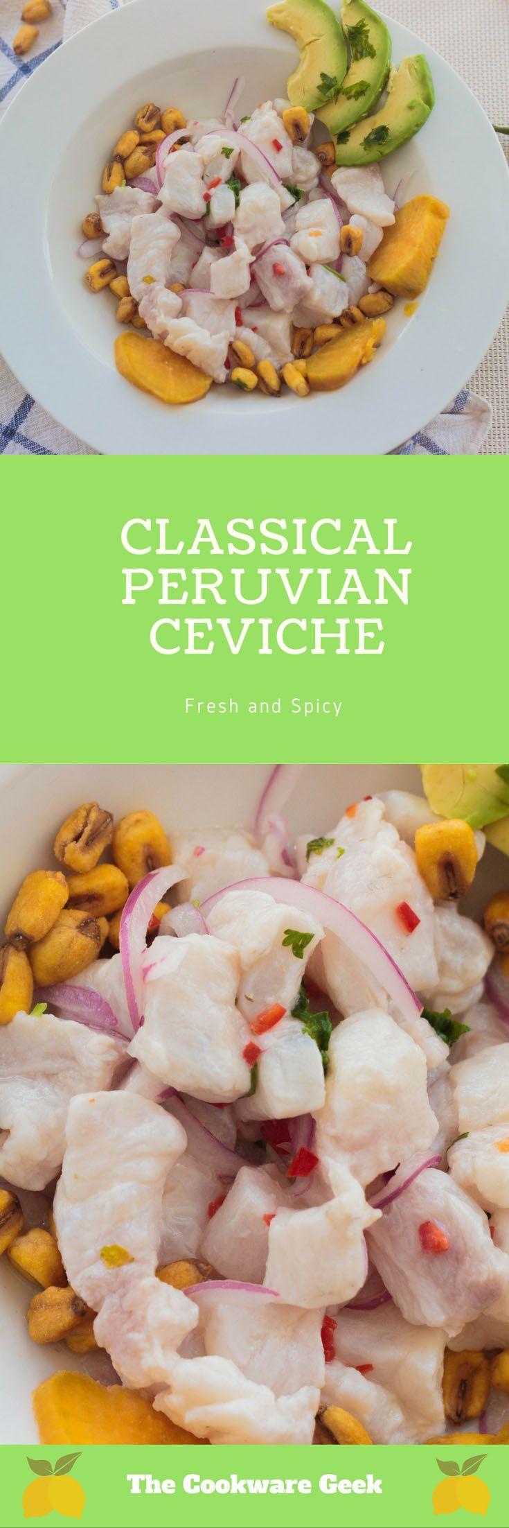 Classical Peruvian Ceviche | The Cookware Geek