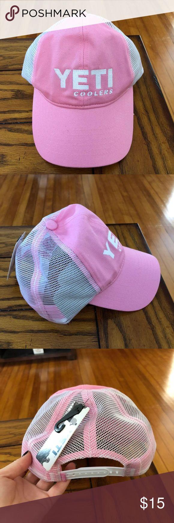 Yeti pink trucker hat NWT yeti pink trucker hat Yeti Accessories Hats