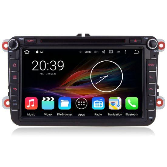 "7"" Android Autoradio Car Multimedia Stereo GPS Navigation Head Unit Skoda Volkswagen Amarok Bora Caddy EOS Jetta Polo Passat"