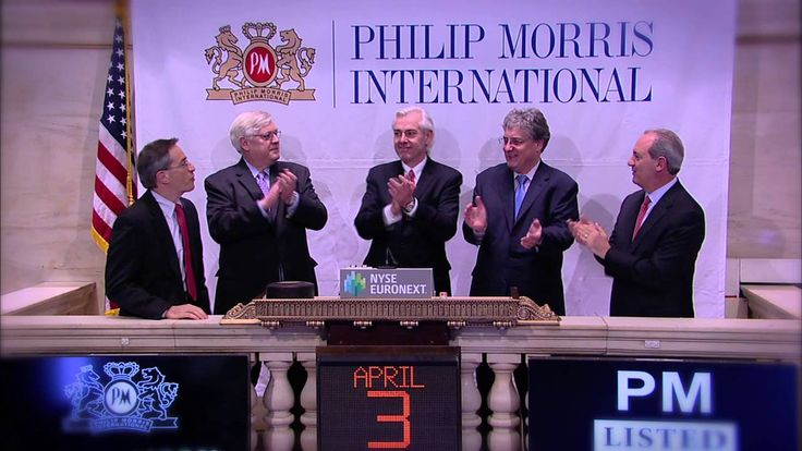Philip Morris International, Inc rings the NYSE Closing Bell - YouTube