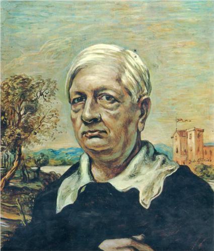 Giorgio de Chirico (1888 - 1978) | Neo-baroque | Self Portrait - 1967