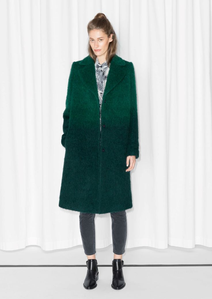& Other Stories | Gradient Wool-Blend Coat