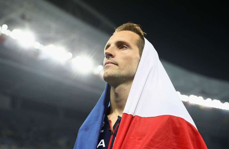 French silver-medalist pole vaulter apologizes after bizarre rant against Brazilian fans:  August 16, 2016  -     Renaud Lavillenie of France reacts after winning the silver medal in the Men's Pole Vault final on Day 10 of the Rio 2016 Olympic Games at the Olympic Stadium on August 15, 2016 in Rio de Janeiro, Brazil.