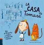 La casa de Tomasa. Root, Phyllis Ilustrador: Durand, Delphine. La casa de Tomasa es pequeña y cómoda, ideal para ella y su gato. Pero Tomasa acoge a toda la gente que llega y ¡cada vez hay menos espacio para ella y su gato!