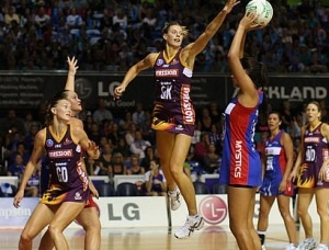 Dropping the N-bomb: A bloke at the netball