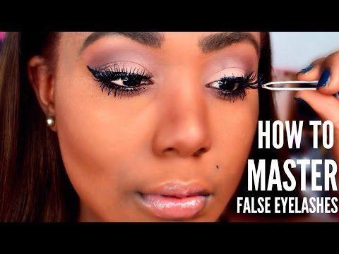 27eda34b684 HOW TO : Apply False Lashes, Clean, and HOW TO Remove I FALSE EYELASHES 101  - YouTube #AgeSpotsBeautyTips