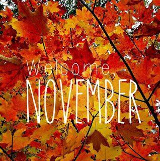 Welcome November -Bienvenido Noviembre por Maritza M. Mejia