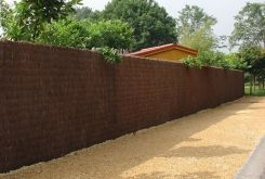 Brushwood fencing, direct import