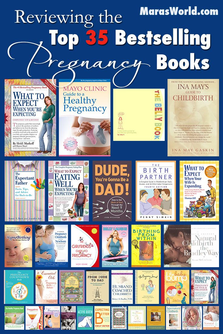 The 35 Best-Selling Pregnancy Books