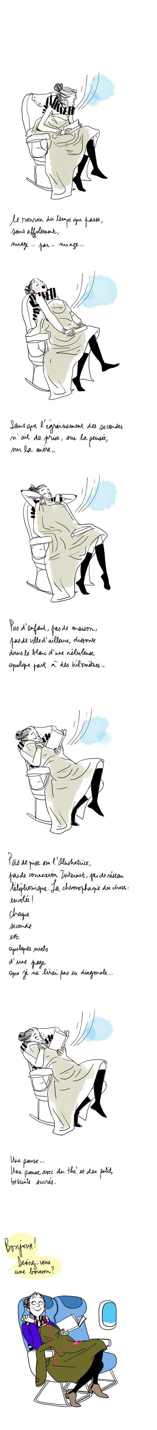 Illustration Margot Motin #2  Vertical storyboarding