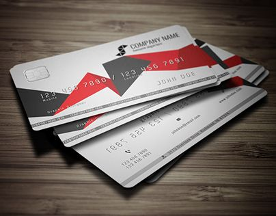 22 best graphic design images on pinterest business card design credit card style business carda business card that looks like a credit card express your creativity and professionalism with this high quality template accmission Choice Image