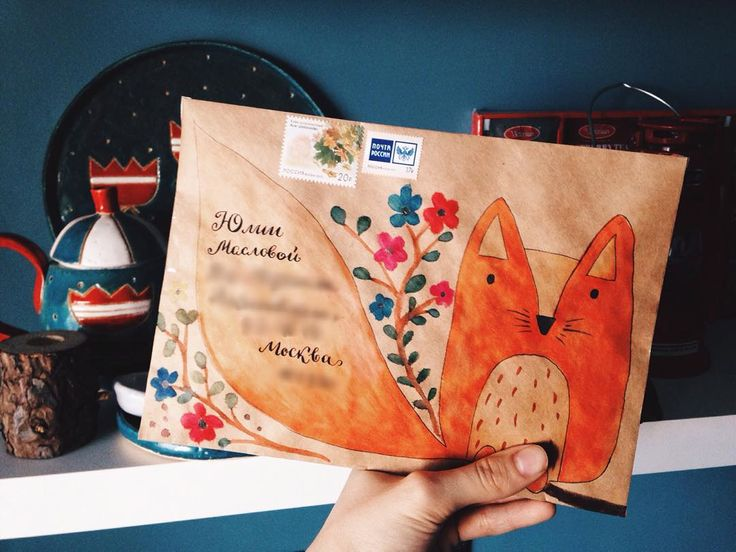 «#outgoing #letter #mailart #fish #ceramic #color #tigerstore #envelope #snailmail #stamp #почта #письмо #washitape #sticker #penpals»