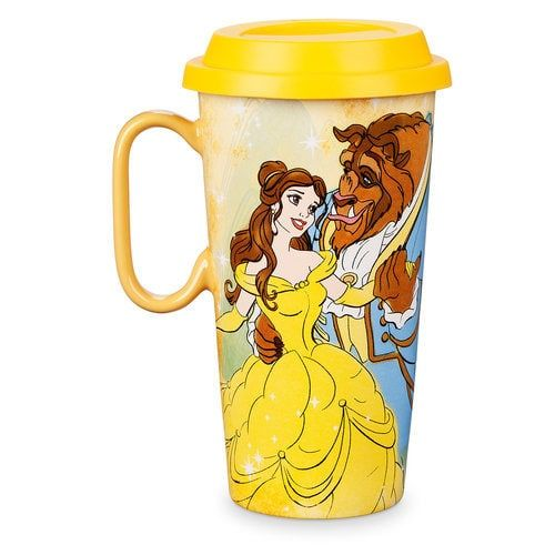 OFFICIAL DISNEY BEAUTY /& THE BEAST BELLE CERAMIC COFFEE MUG CUP NEW BOXED ABY