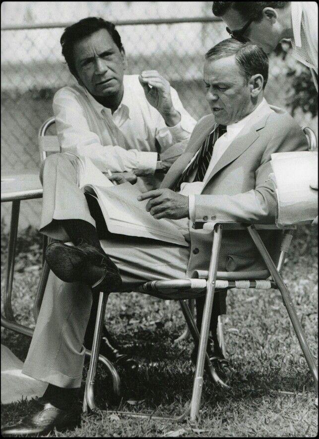 Frank Sinatra and Richard Conti
