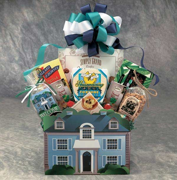 Send the Welcome Home gift basket to welcome them home. Whether they've been gone a day or for years, and whether it's to a new home, from across town or around the world, bring them home to a basket of goodies. Show you care with the Welcome Home gift basket.