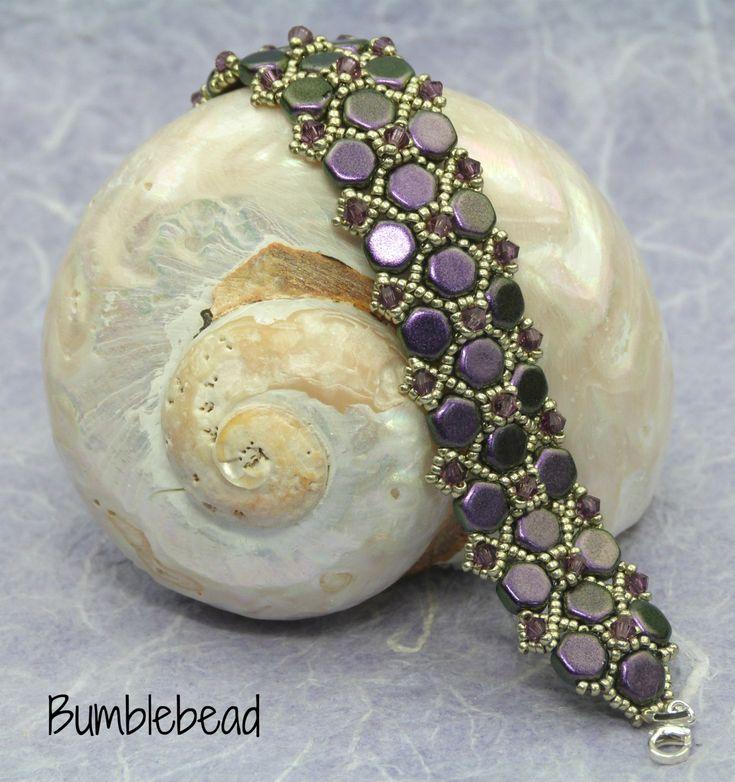 Georgian Hallway Bracelet Tutorial by BumblebeadCrafts on Etsy