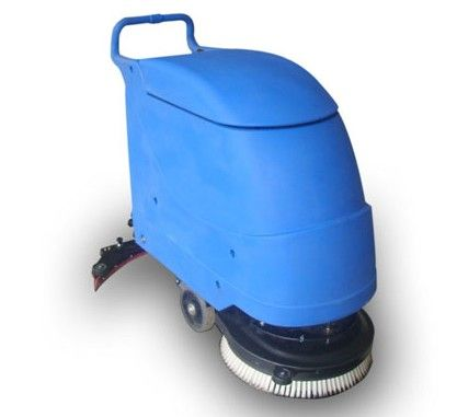 The Walk Behind Automatic Floor Scrubber/Drier is a self-propelled, start and go machine, which doesn't require any training, maintenance fast, easy and highly performing.