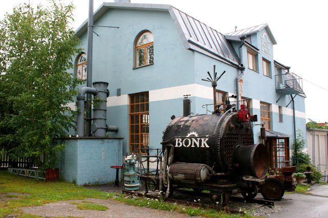 Dynamokeskus Bonk on museo Uudessakaupungissa, jossa esitellään kuvitteellisen Bonk Business Inc tai O.y. Bonk A.b. yhtiön historiaa. #uusikaupunki #finland