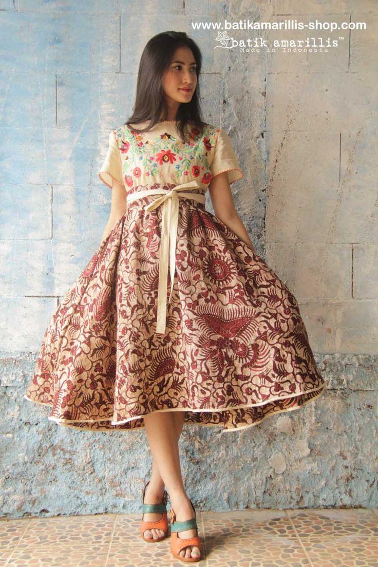 New modern dress styles - Batik Amarillis S Diva Dress Revamped Available At Batik Amarillis Webstore Www Batikamarillis Shop