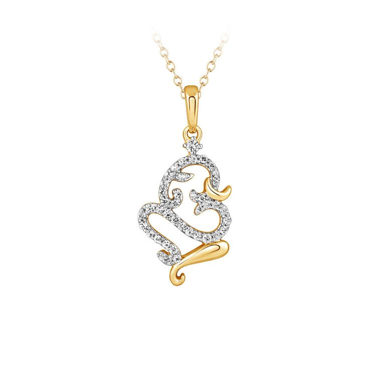 0.42 Ct Round Cut Cz Om Pendant Yellow Gold Finish Without Chain Christmas Gift #caratsforyou #Pendant