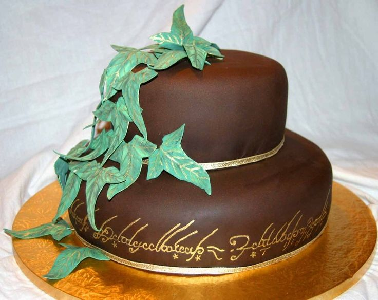 wedding cakes with writing on them 97 best lord of the rings wedding theme images on 26141