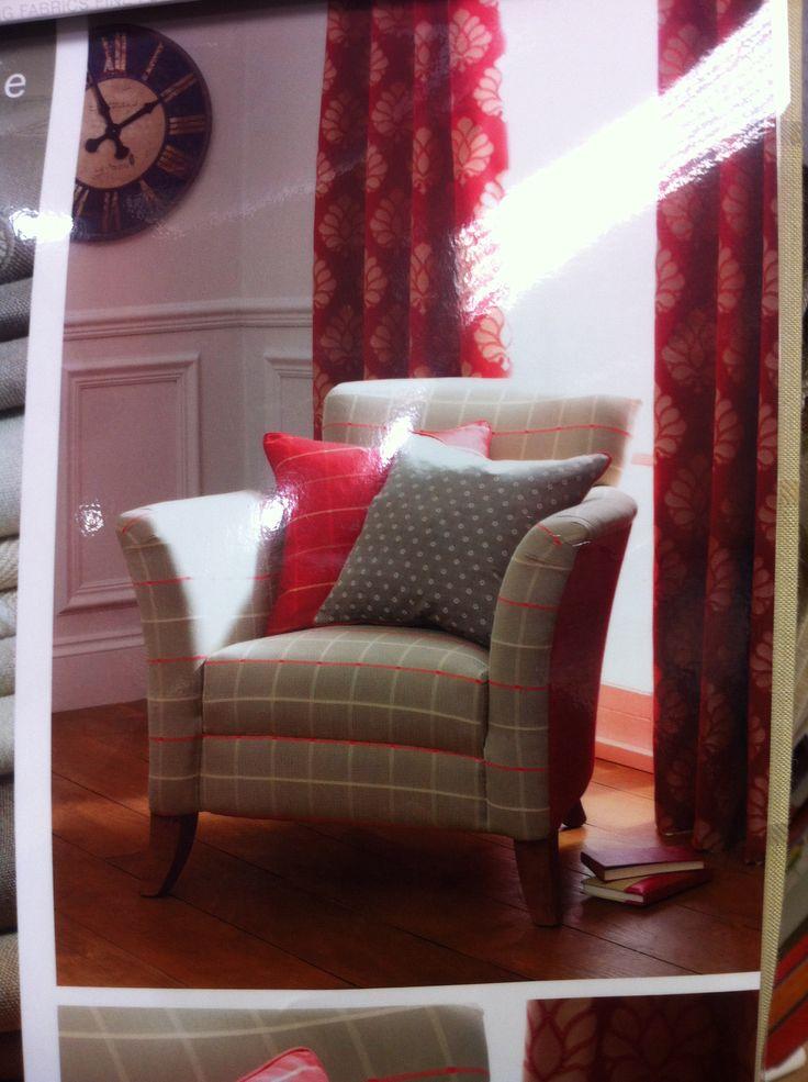 Swaffer fabric chair