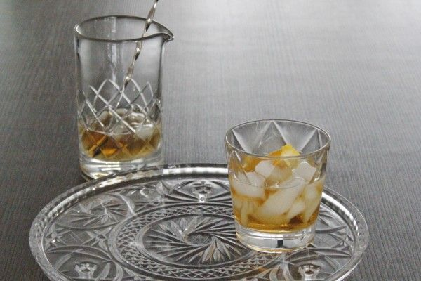 De Godfather is een stoere combinatie van Italiaanse amaretto met Amerikaanse whisky. De echte Godfather drinkt hem on the rocks!