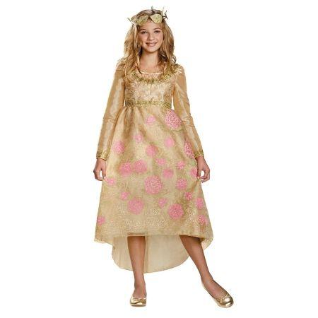 Disguise Costumes Girls Maleficent Aurora Coronation Deluxe Dress Costume 10-12 - 1 ea