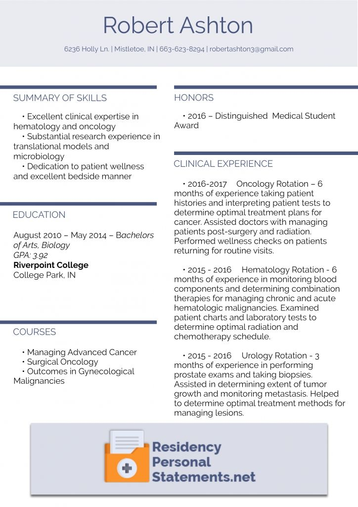 Residency Cv Writing Like A Pro Residency Programs Cv Template Student Resume Template Cv Design Template