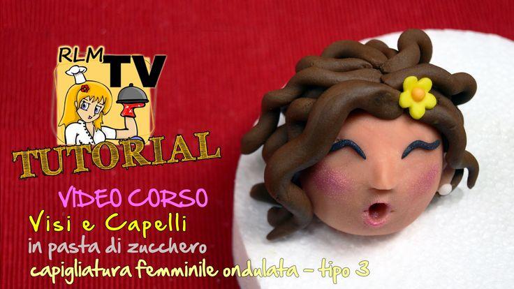 #VIDEO #CORSO: #Visi e #capelli in #pdz - #Capigliatura femminile riccia - tipo 3