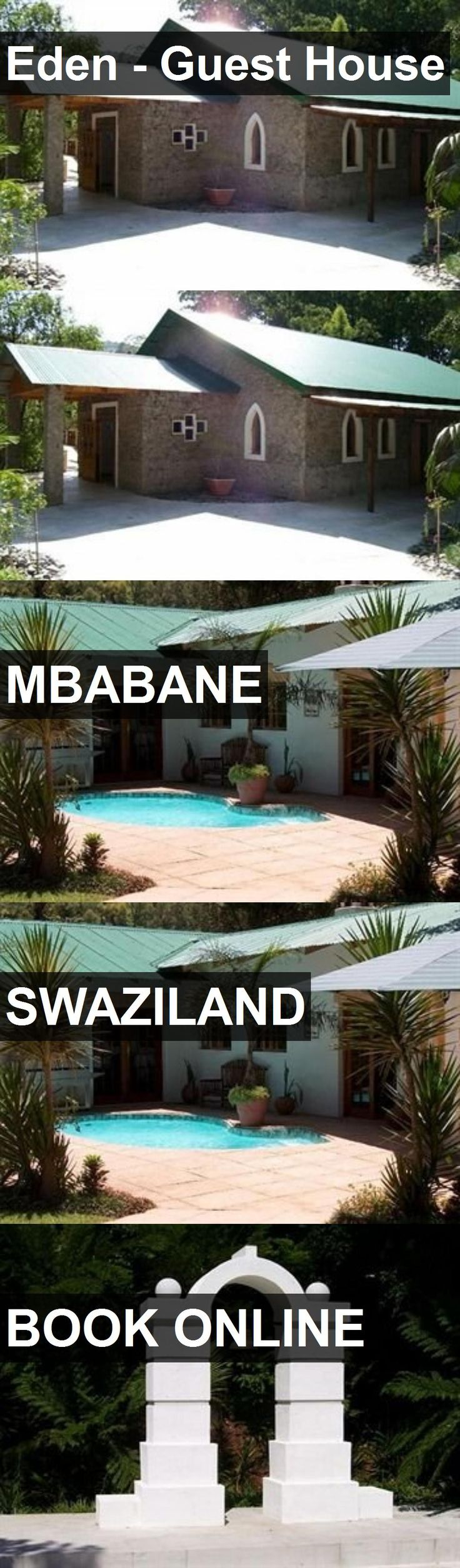 Eden - Guest House in Mbabane, Swaziland. For more information, photos, reviews and best prices please follow the link. #Swaziland #Mbabane #travel #vacation #guesthouse