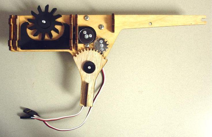 Rubber band gun? Gears