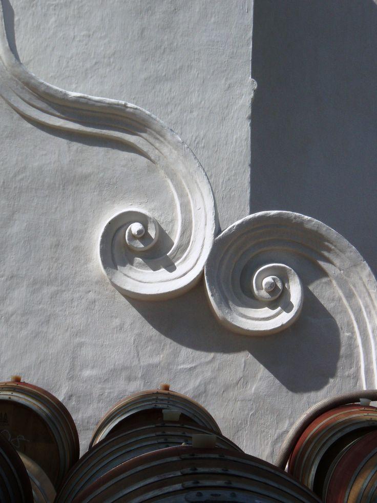 Cape Dutch architectural detail