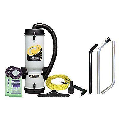 ProTeam 10-Qt. LineVacer Hepa Back Pack Vacuum Sale