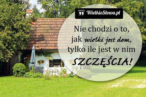 Nie chodzi o to... #Autor-Nieznany, #Dom, #Rodzina, #Szczęście