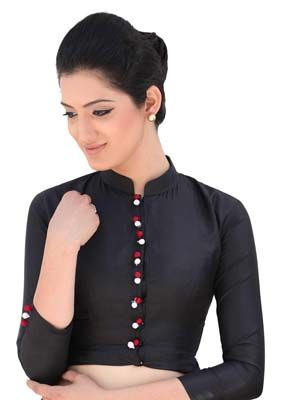 High collared and thin #neckblouses