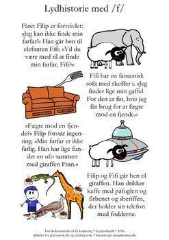 (2016-06) Lydhistorie med masser af /f/'er i. Se instruktionen på sprogkiosken.dk ...