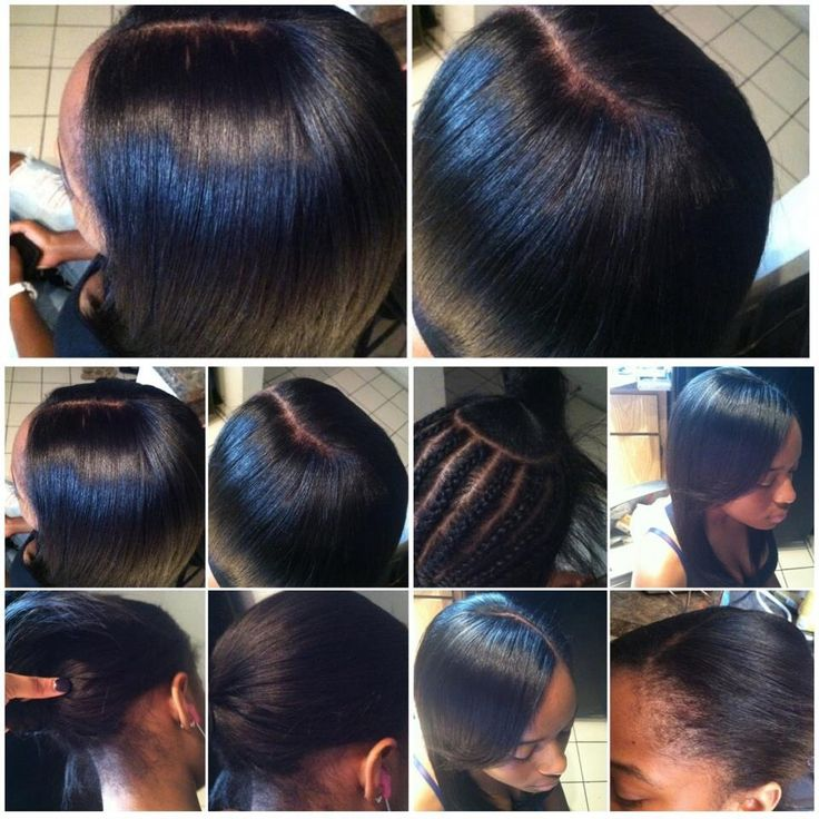Admirable 1000 Images About Flawless Hair Sew In Braid Patterns On Short Hairstyles For Black Women Fulllsitofus