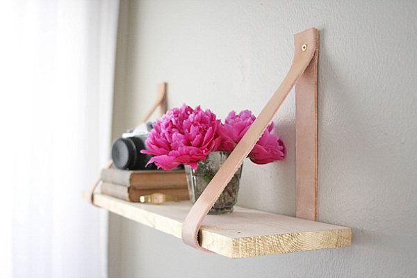 Organisieren Sie Ihren Raum mit DIY Bücherregalen