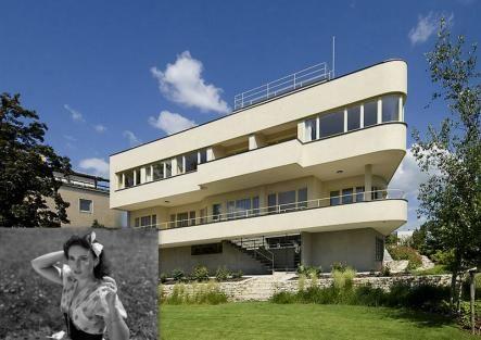 Vila Lídy Baarové na Hanspaulce: Stavbu řídila z Goebbelsovy ložnice